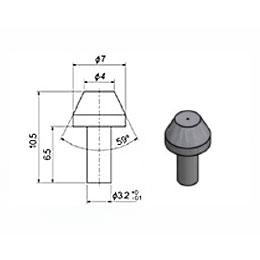Сопло 4 мм сапфировое (тип 90)