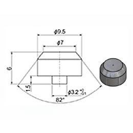 Сопло 7 мм сапфировое (тип 91)