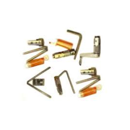 Набор инструментов для создания конуса и нарезки резьбы вручную