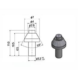 Сопло 2,9 мм сапфировое (тип 90 S1)