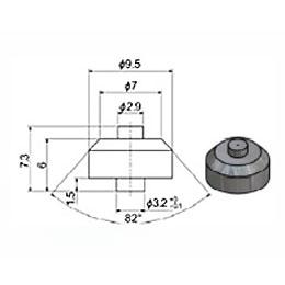 Сопло 2,9 мм сапфировое (тип 91 S1)