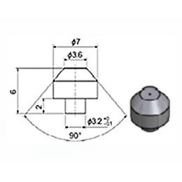 Сопло 3,6 мм сапфировое (тип 93)