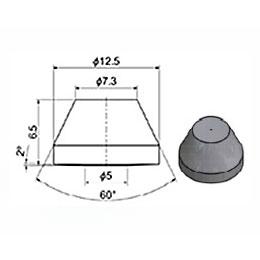 Сопло 7,3 мм сапфировое (тип 95)